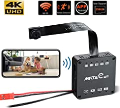 Real 4K Ultra HD DIY Wireless Camera Mini DVR Motion Detection Nanny Cam Security System Remote Control + 4000 mah Battery Action Camera up to 256GB Upgraded Version