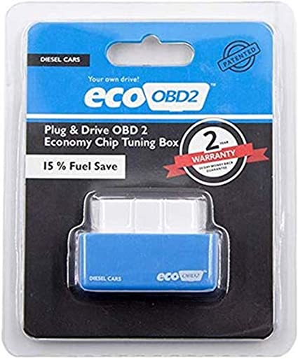 Lzs Benzin Diesel Spritsparer Economy Spritsparer Eco Obd2 Benzin Tuning Box Chip Für Auto Benzin Gas Sparen Sie Weniger Kraftstoff Und Senken Sie Blau Sport Freizeit