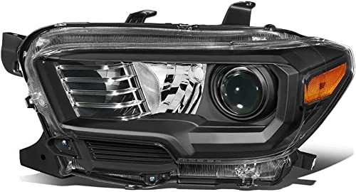 new arrival SHAREWIN Replacement For TACOMA 2016 2017 2018 outlet sale Headlights outlet online sale Drive Left Side LED Headlammp Assembly Black Housing Amber Reflector outlet sale