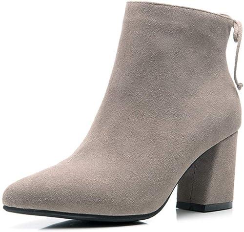 grandes ofertas ZHRUI botas para mujer mujer mujer Botines