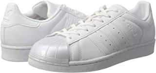Superstar Glossy Toe W Ladies Trainers White BB0683, Size:38