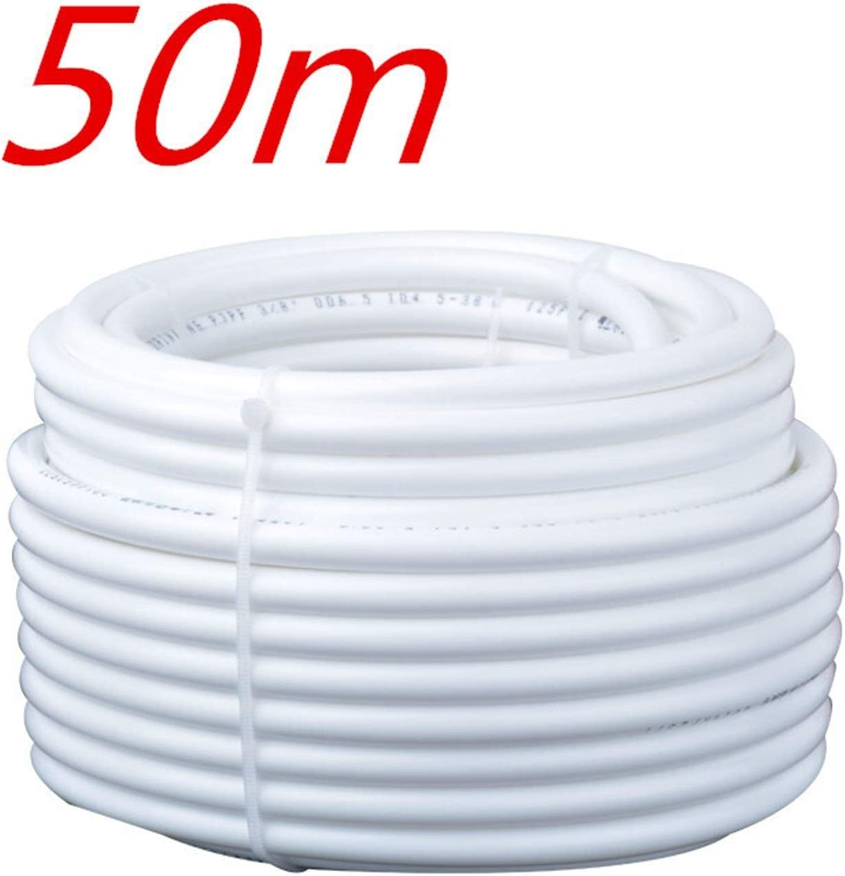 External Accessories Water Tube 3//8 Quick Hose Pipe for RO Water Filter System Aquarium PE Reverse Osmosis 3//8 Inch Easy to Install and Very Convenient. Color : 20m