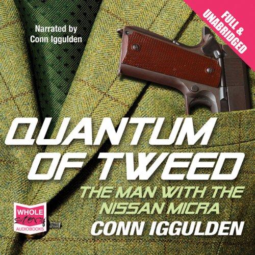 Quantum of Tweed audiobook cover art