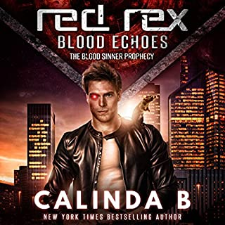 Red Rex: Blood Echoes audiobook cover art