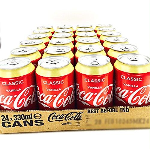 Coca Cola Vanille 24 x 0,33l Dose (Vanilla Coke)