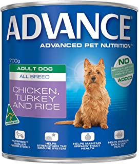 Advance Adult and Senior Chicken Turkey & Rice 700g Dog Wet Food