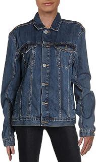 Calvin Klein womens Denim Trucker Jacket
