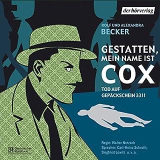 Tod auf Gepäckschein 3311 (Gestatten, mein Name ist Cox) Titelbild
