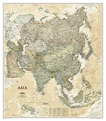 Asia Executive laminiert (National Geographic Reference Map)