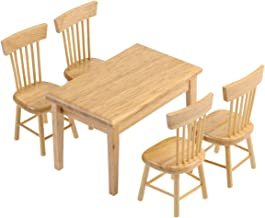 Best wooden dining table chairs Reviews