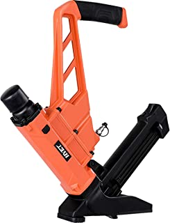 Goplus Pneumatic Flooring Nailer and Stapler 16-Gauge Cleat Air Hardwood Flooring Tool with Rubber Mallet (2-in-1)