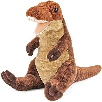 カロラータ ティラノサウルス ぬいぐるみ 恐竜 (おすわりシリーズ) 15cm×19cm×15cm