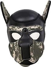 Jeash Novelty Erotic Headgear Mask Binding Role-Playing Game Mask Training Dog Headgear
