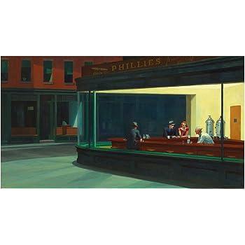 Empire 12159 300 - Póster de Los Simpsons imitando Cuadro de Edward Hopper (91,5 x 61 cm): Amazon.es: Hogar
