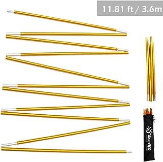 B/âton auvent 2 pcs 110//200 cm Bo-Camp /Ø 19-22 mm