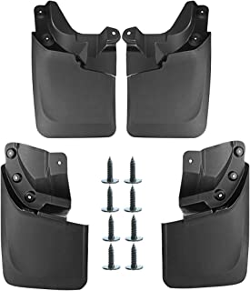 A-premium Mud Flaps Splash Guards for Toyota Tacoma 2016-2019 Molded (Except SR Models) with OEM Fender Flares Front and Rear 4-PC Set
