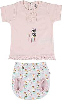 Conjunto Ropa Disney Bebe de Minnie Mouse Juego de Pijama para Bebés