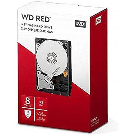 Western Digita Wd Red Interne Festplatte 8 Tb Rot Computer Zubehör