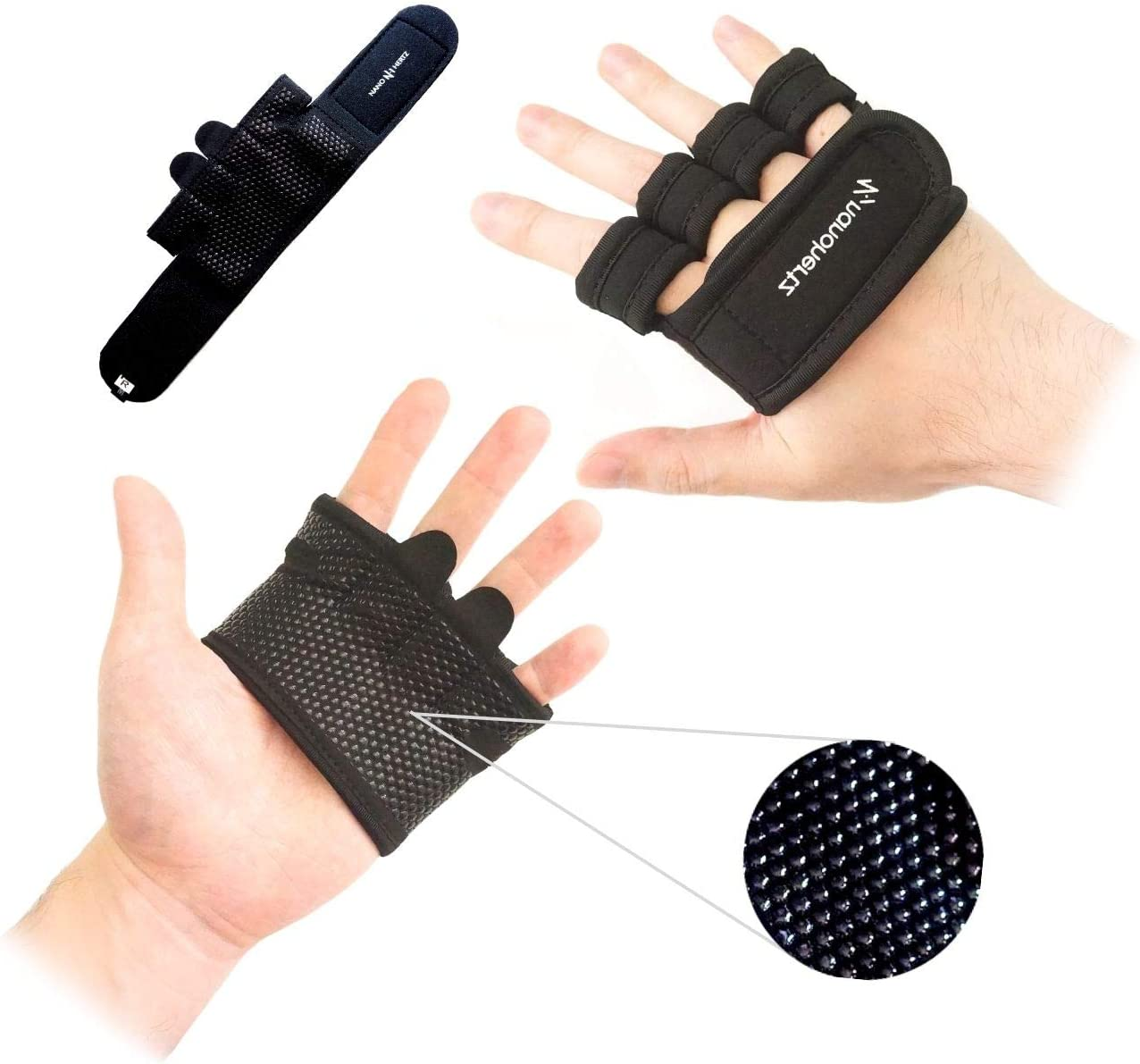 NH Weight-Lifting Ranking TOP16 Workout Fashionable Fitness Gym Callus-Guard Bare Gloves