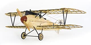 Wooden Models Bi-Plane Albatross D.III Aircraft Construction Kits, Laser Cut Balsa Wood Model Airplane Kits to Build for Adults, Perfect Handcrafted 3D Wooden Puzzles Jigsaw for Home Decor/ Collection