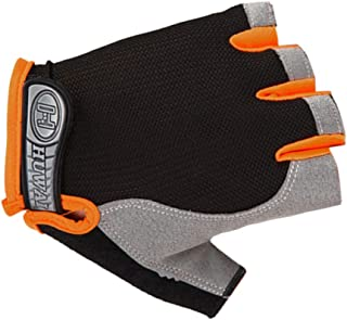 Ausexy_ Unisex Half Finger Gloves, Tight Non-Slip Shock Absorption Wear Mitten for Driving Running Cycling Texting Snowboarding