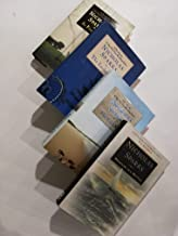 Set of 4 Hardcover Nicholas Sparks Romance Novels: Message in a Bottle, At First Sight, The Lucky One, and The Last Song