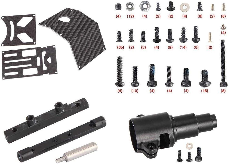 Walkera Furious 320(G) Tilt redor [QTY  1] Carbon Pipe Fixing Block B Furious 320(G)-Z-05 Body Part [QTY  1] Screw Set 320(G)-Z-06 Fasteners Hardware [QTY  1] Upper Main Board 320(G)-Z-02 Pieces [QTY