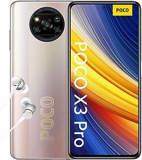 "POCO X3 Pro, Smartphone 8+256 GB, 6,67"" 120 Hz FHD+ DotDisplay, Snapdragon 860, cámara cuádruple de 48 MP, 5160 mAh, Bronc..."
