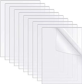 film/é des deux c/ôt/és transmission lumineuse de 78/% verre d/époli surface lisse de 3 mm d/épaisseur Plexiglas/® blanc opalin B/&T Metall Plaque de verre acrylique PMMA XT r/ésistant aux UV