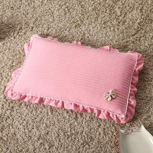 Gneric 100% Cotton Organic Buckwheat Pillow Refill Pillow Best Pillows for Sleeping Pink