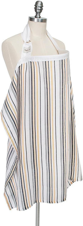 Bebe Au Lait Nursing Cover  Muslin  Vintage Stripe