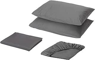 Ikea Sheet set, light gray, Full