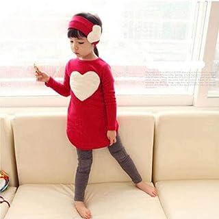St. Lun Spring And Autumn New Girls' Love Children'S Set Cotton 3Pcs/Set Fashion Kids Cotton Clothes Long Sleeve Shirt + L...