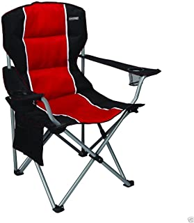 craftsman padded chair red