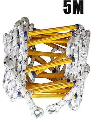 giochi allaperto per amazing evacuazione salvataggio SOWLFE Scala antincendio Scala di salvataggio di emergenza Scala di corda per arrampicata morbida per bambini e adulti multifunzione per lavoro