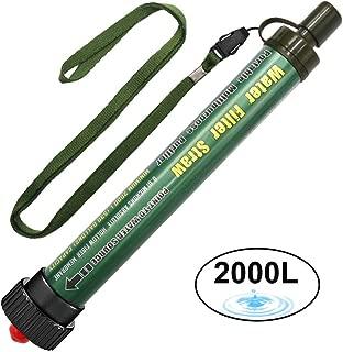 Filtro de Agua 2000L Personal Sistema de Filtración de Agua