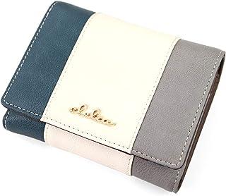 [クレリア] Clelia 折り財布 レディース 大容量 二つ折り トリコロール Riberteシリーズ 【CL-17075】