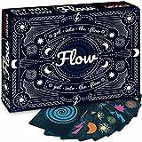 Juego de cartas Flow - El juego de fiesta para los adictos a la adrenalina en la velocidad - Poner a prueba sus reacciones y la velocidad - para 2-4 personas