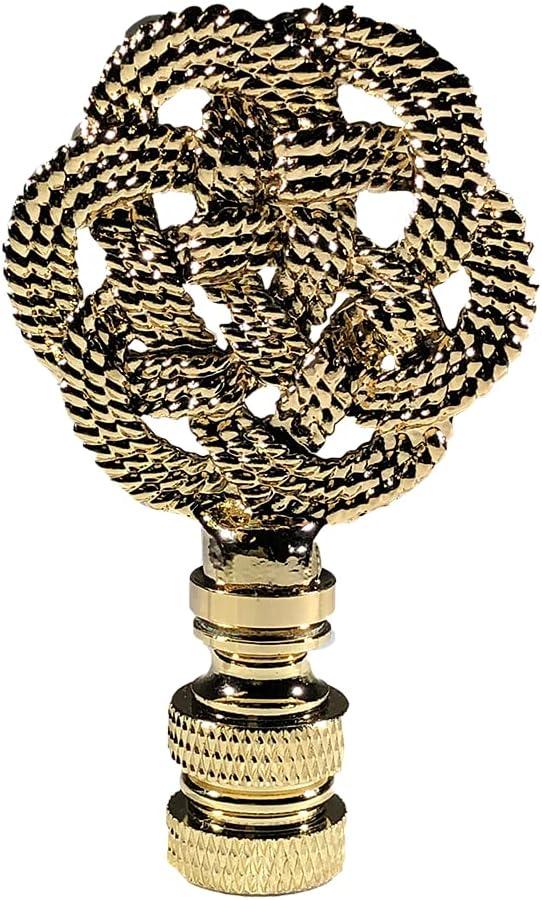 Royal Outlet SALE Designs Inc. Decorative Celtic Knot Po Lamp Max 66% OFF Finial…