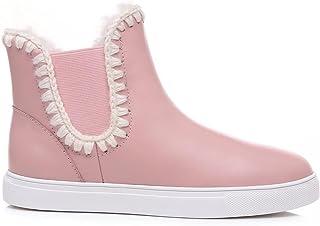 UGG Boots Sheepskin Short Genuine Leather Elastic Ladies Women Shoes Black
