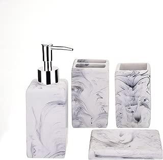 Best faux marble bathroom accessories Reviews