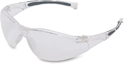 Honeywell 1015370 A800 Sporty Safety Eyewear Frame met Clear Anti-Kras Lens - Doorzichtig