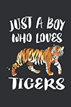 Just A Boy Who Loves Tigers: Gifts For Animal Lovers Teen Girl, Gifts For Pet Lovers, Online Purchases Organizer