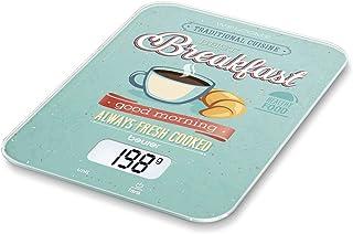 Beurer KS19 - Balanza de Cocina Desayuno, medicíón 5 kg, 1