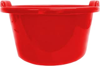 Heart Home Unbreakable Multipurpose Bathroom Deep Tub 40 Litre (Red)- CTHH22028