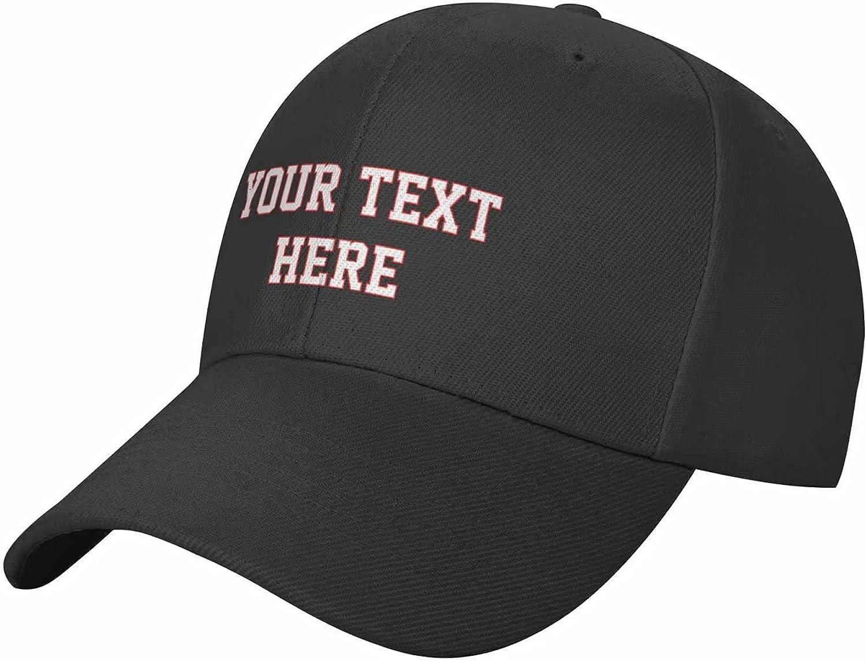 Personalized Hats, Custom Baseball Caps, Custom Text & Photo Hat for Men & Women