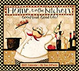 Home Is In the Kitchen 2021 Deluxe Wall Calendar