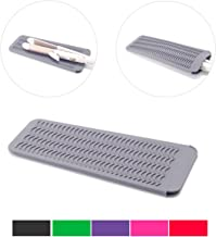 ZAXOP Resistant Silicone Mat Pouch for Flat Iron, Curling Iron,Hot Hair Tools(GREY)