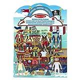 Melissa & Doug 19102 & Doug Aktivitätenbuch mit wiederverwendbaren Gummistickern - Piraten (51 Sticker) -