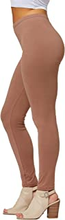 Premium Ultra Soft Leggings in 25 Colors - High Waisted - Women's Reg and Plus Size - Full & Capri Length